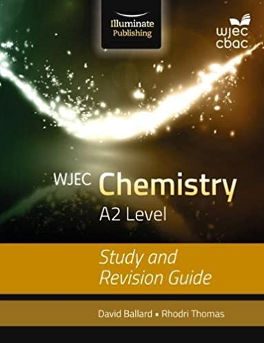 wjec chemistry for a2 study and revision guide amazon co uk david rh amazon co uk GCSE Science IGCSE Chemistry Revision Notes