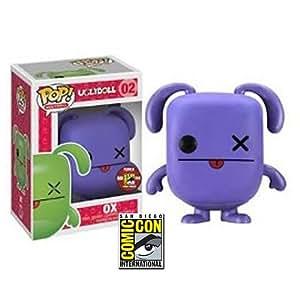 Amazon Com Uglydoll Purple Ox Sdcc 2012 Exclusive Pop