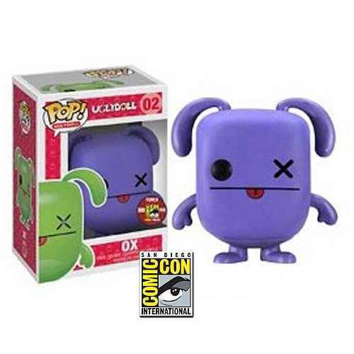 Uglydoll Purple Ox SDCC 2012 Exclusive Pop! Vinyl Figure