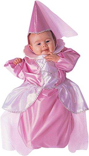 Baby Girl Pink Princess Halloween Costume (6-12 Months) ()