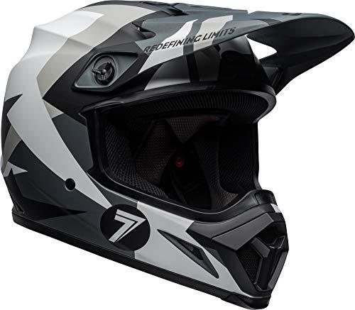 - Bell MX-9 MIPS Off-Road Motorcycle Helmet (Seven Battleship Matte Black/Grey, Medium)