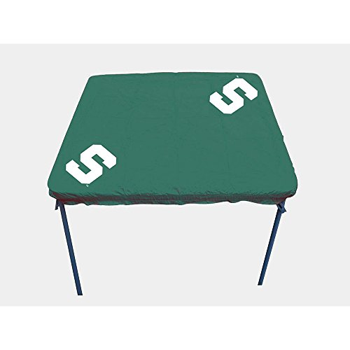 Rivalry NCAA Michigan State Spartans Card Table Cover (Tailgate State Table)