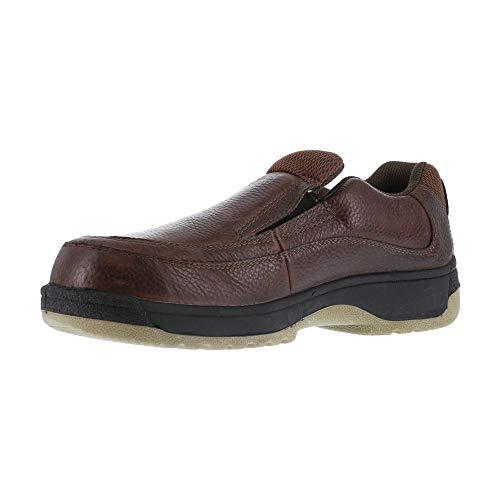 FS245 Florsheim Women's Eurocasual Safety Shoes - Dark Brown - 5.5 - M