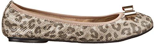 Butterfly Twists chloe - Bailarinas para mujer silver leo snake