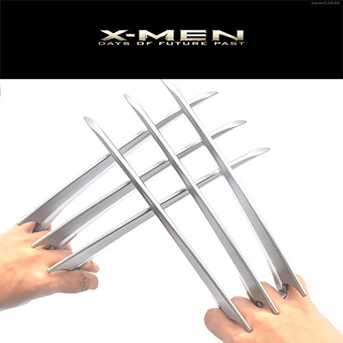 (Wolverine Claws X-Men Marvel Universe Collection Claws Custome Cosplay 2-pcs)