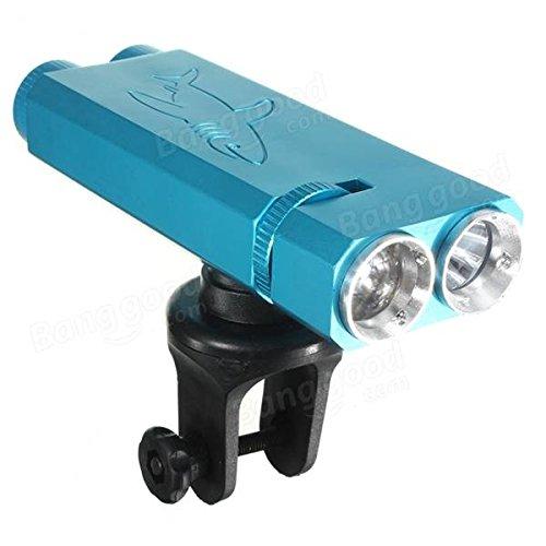 Bazaar Vélo headlamp 3 modèles lampe de sûreté à la lumière de vélo bicyclette avant 2 LED