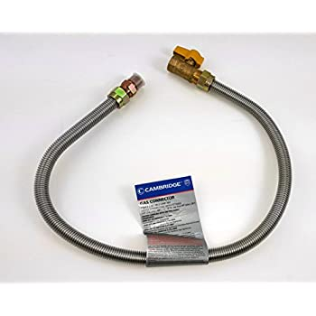 Lasco 10 1225 Flexible Coated Gas Water Heater Supply Line