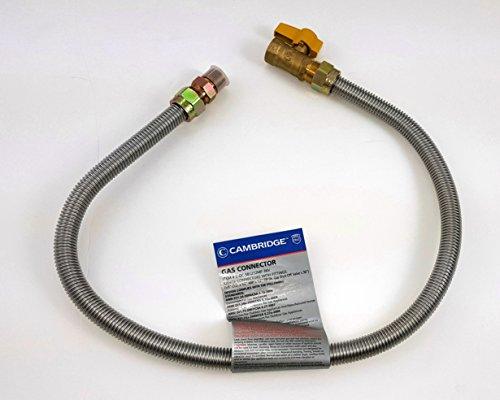gas appliance shut off valve - 1
