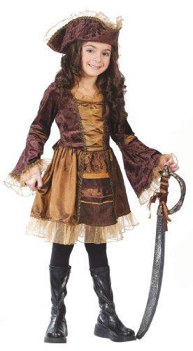Sassy Pirate - Big Girls' Sassy Victorian Pirate Costume - M