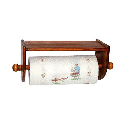Home Basics Pine Wall Mount Towel - Holder Paper Towel Pine