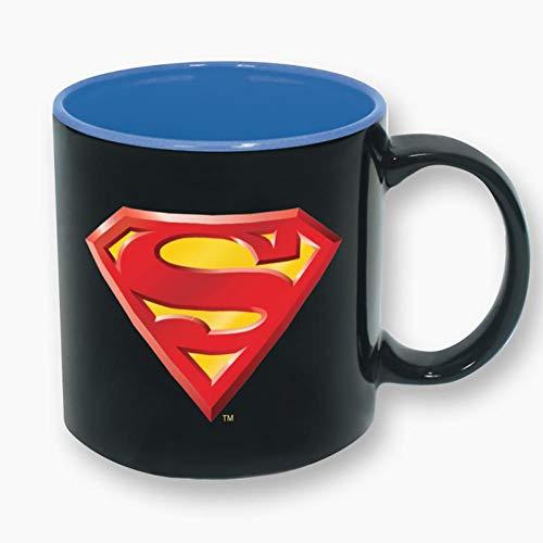 (Superman DC Comics Logo 16oz Ceramic Coffee Mug)