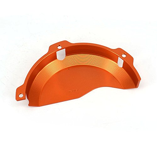 JFG RACING CNC Aluminum Billet Orange Engine Case Clutch Cover Guard Protector For KTM EXC 250 EXC 300 2009-2016 250SX 2009-2015 by JFG RACING (Image #2)'