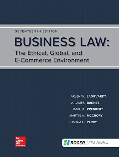 Loose Leaf for Business Law