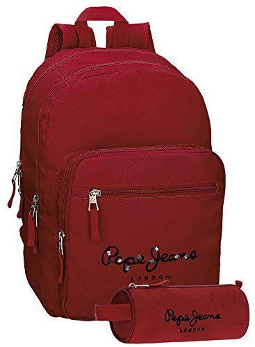 Harlow 44 42 Jeans bags liters cm School Green Pepe 6682454 19 Red FTqEwxnS