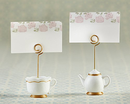 48 Tea Time Whimsy Place Card Holders by Kateaspen