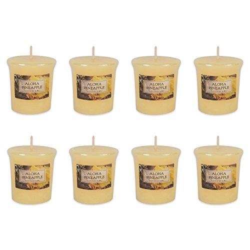 - DII Single Wick Evenly Burning Highly Scented Votive Candle, 1.8 oz