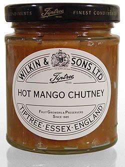 Wilkin & Sons Hot Mango Chutney - scharf