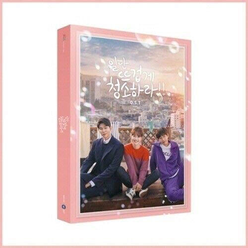 Clean with Passion for Now 2019 Korean TV Show Drama OST CD+PhotoBook+Postcard+Tracking K-POP Sealed