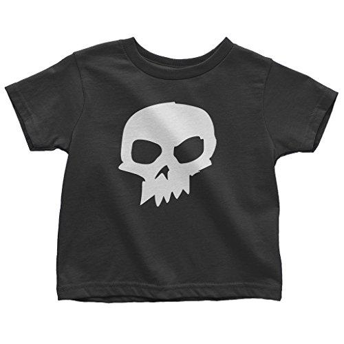 (Mixtbrand Little Boys' Sid Skull Toddler T-Shirt 3T Black)