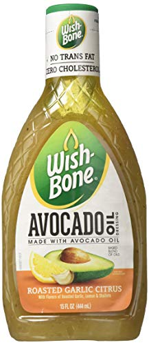 Wish-Bone A.V.O. Salad Dressing, Garlic Lemon Vinaigrette, 15 Ounce