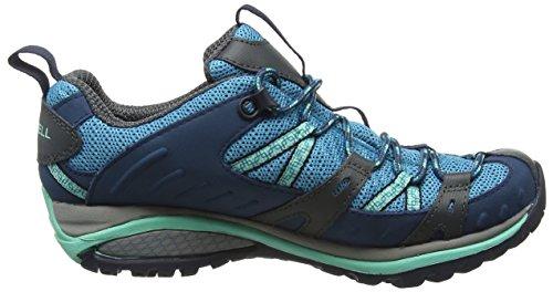 Aqua Rise GTX Senderismo MerrellSiren Azul Zapatos Turquoise Low Mujer de Sport TOWXqwvS