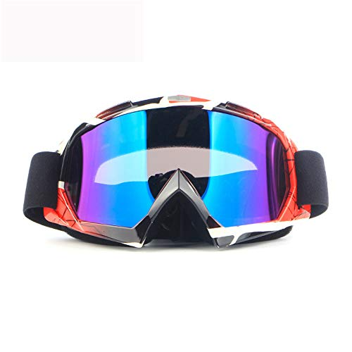 Ski Goggles Snowboard Goggles Motorcycle Goggles Motocross UV400 Protection Windproof Dustproof Anti Fog ATV Racing Cycling Glasses
