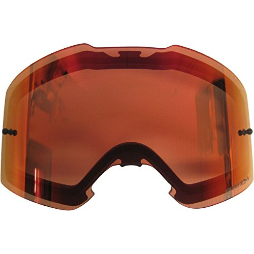 Oakley Front Line MX Prizm MX Torch REPL Lens unisex-adult Goggle Replacement Len (Red, Large), 1 - Line Eyewear See