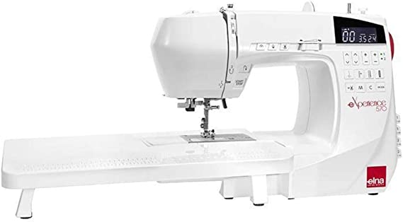Máquina de coser ELNA eXperience 570: Amazon.es: Hogar