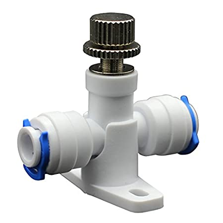 Meiduoduo 1/4 Inch Flow Control Valve RO Reverse Osmosis