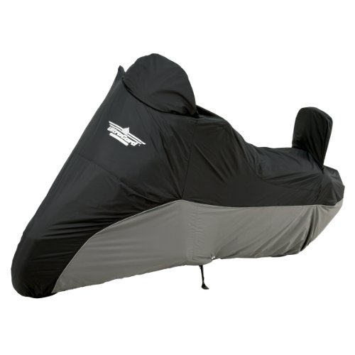 (UltraGard 4-459BC Black/Charcoal Cruiser Motorcycle Cover )