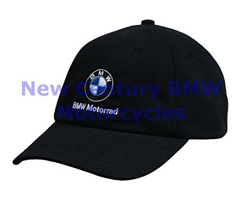 BMW Genuine Motorcycle Motorrad Unisex Classic Hat Cap Black One Size