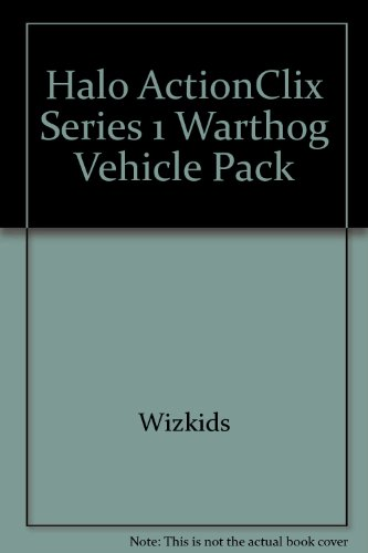 Wizkids Halo Actionclix - Halo ActionClix Series 1 Warthog Vehicle Pack