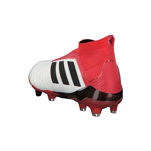 Scarpe Predator Firm Bianco Schwarz Schwarz Calcio Uomo adidas Weiãÿ Ground Rot 18 Rot da Weiãÿ dFqpqUI1