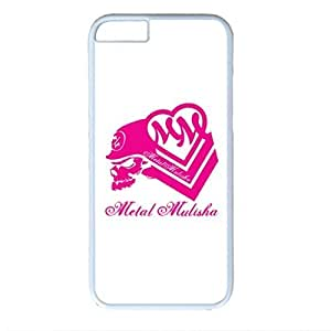 Metal Mulisha Maiden Custom Back Phone Case for iphone 6 4.7 PC Material White -1218117