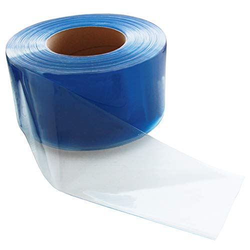 (VIZ-PRO Freezer PVC Curtain Strip for Walk in Freezers, Coolers & Warehouse Doors, 164' Length x 8