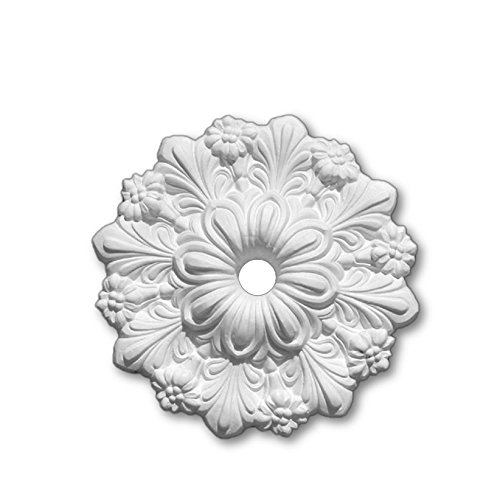 Plaster Ceiling Rose Small 324mm | Handcrafted - R28 Cornice Covings Ltd