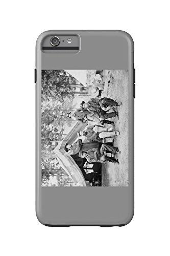 Fair Oaks, VA - Gen. Caldwell and Staff Civil War Photograph (iPhone 6 Plus Cell Phone Case Cell Phone Case, - Fair Oaks Va