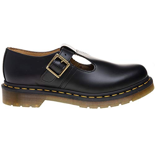Martens Black Dr Polley 8 8 Nere Martens Uk Scarpe Polley Uk Shoes Dr HUx5xwq6
