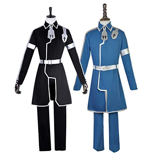 Sword Art Online Alicization Cosplay Costume SAO Halloween Full Set Suit Jacket (S, -