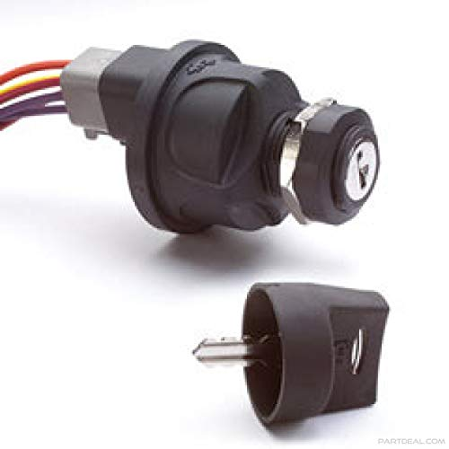 Cole Hersee Ignition Switch - Cole Hersee 95060-03-BX Plastic Rotary Ignition Switch (3 Position)