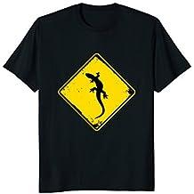 Vintage Lizard Reptile Animal Retro Sign Distressed T-shirt