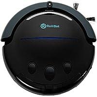 Best in Class RolliTerra Robotic Vacuum - Quiet, Deep-Cleaning Rollerbrush Filters Debris and Pet Hair, Includes Remote