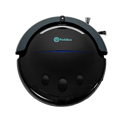 Best in Class RolliTerra Robotic Vacuum - Quiet, Deep-Cleaning Rollerbrush Filters Debris and Pet...