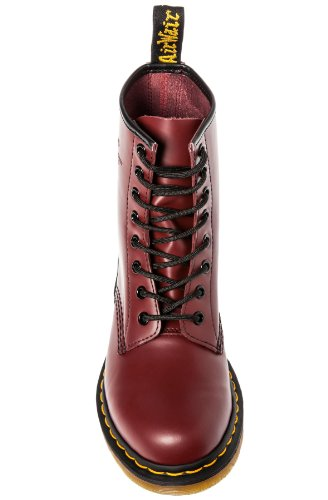 Dr. Martens Womens 1460 8-Eye Casual Boot Cherry 8 M UK xnuaB0Wt