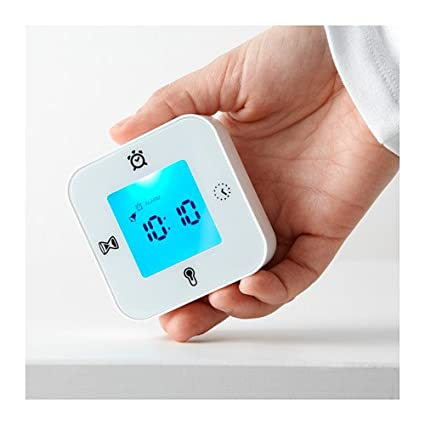 Ikea klockis - Orologio/Termometro/Alarm/Timer, Bianco: Amazon.it ...