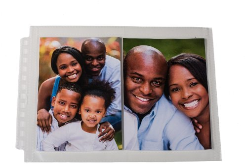 (Ultra Pro 12-Hole Horizontal Page for 5 by 7-Inch Prints, 25-Pack)