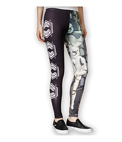 Mighty Fine Womens Stormtroopers Casual Leggings black XS/29 ()