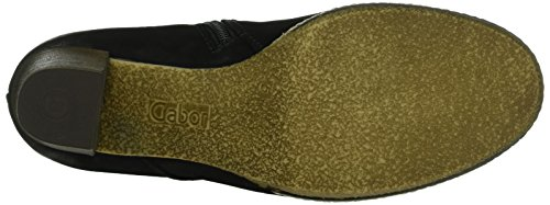 Schwarz Sport Botines Shoes para Gabor micro Negro Mujer Comfort UE07nnqw