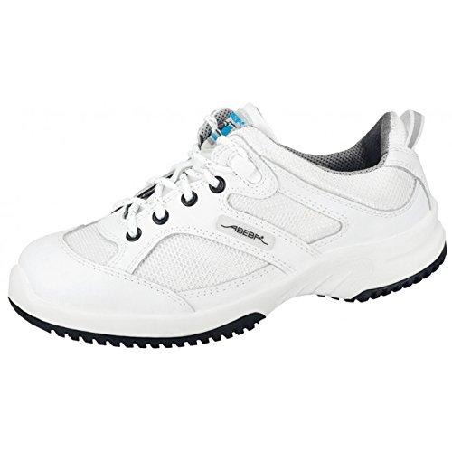 Abeba 31720-43 Uni6 Chaussures de sécurité bas ESD Taille 43 Blanc