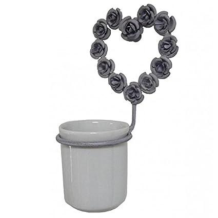 Puerta vaso para cepillo de dientes de pared o perchero ...